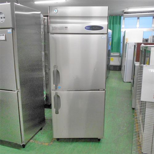 【中古】2ドア縦型冷凍冷蔵庫 ホシザキ HRF-75Z 幅750×奥行800×高さ1950 【送料別途見積】【業務用】
