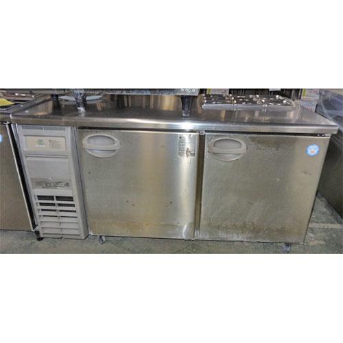 【中古】冷蔵サンドイッチコールドテーブル フクシマガリレイ(福島工業) YRW-150RM2(改) 幅1500×奥行750×高さ800 【送料別途見積】【業務用】