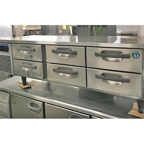 【中古】冷蔵ドロワーコールドテーブル ホシザキ RTL-165DNF 幅1650×奥行600×高さ570 【送料別途見積】【業務用】