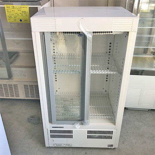 【中古】冷蔵ショーケース パナソニック(Panasonic) SMR-M66NB 幅600×奥行450×高さ1060 【送料別途見積】【業務用】