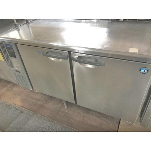 【中古】冷凍冷蔵コールドテーブ ホシザキ RFT-150SDF-E 幅1500×奥行750×高さ800 【送料別途見積】【業務用】