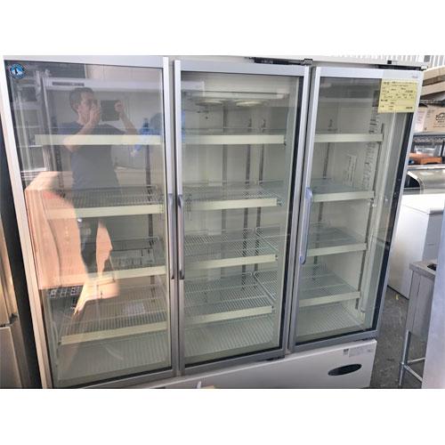 【中古】冷蔵ショーケース ホシザキ USR-180XT3-1B 幅1800×奥行650×高さ1915 三相200V 【送料別途見積】【業務用】