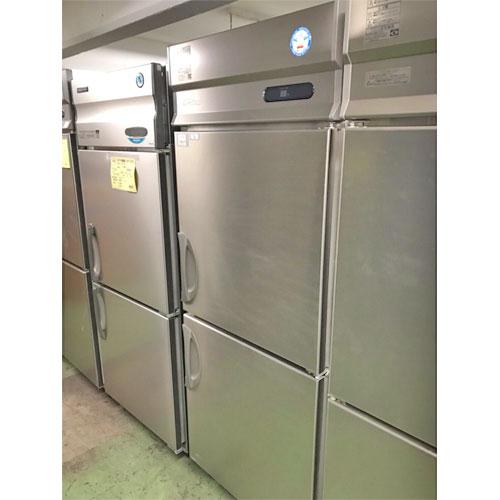 【中古】縦型冷蔵庫 フクシマガリレイ(福島工業) URN-080RM6 幅755×奥行650×高さ1950 【送料別途見積】【業務用】