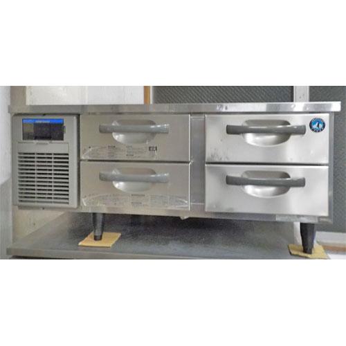 【中古】冷蔵ドロワーコールドテーブル ホシザキ RTL-120DDF 幅1200×奥行750×高さ650 【送料無料】【業務用】