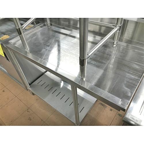 【中古】クリーンテーブル 幅1150×奥行700×高さ830 【送料無料】【業務用】