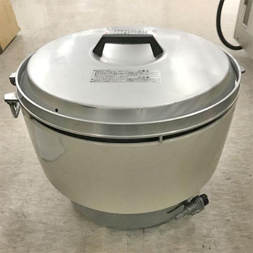 ガス炊飯器 5升 リンナイ RR-50S1 プロパンガス 業務用 中古/送料別途見積