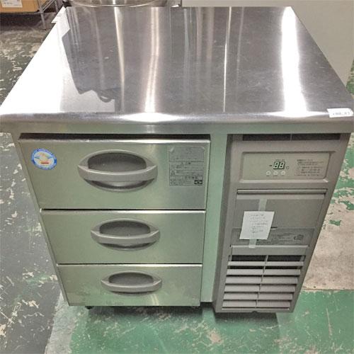 【中古】冷凍ドロワーコールドテーブル フクシマガリレイ(福島工業) YDW-083FM2-F 幅755×奥行750×高さ800 【送料別途見積】【業務用】