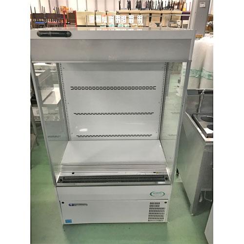 【中古】冷蔵ショーケース フクシマガリレイ(福島工業) MEU-31GHPA4L 幅900×奥行650×高さ1500 三相200V 【送料別途見積】【業務用】