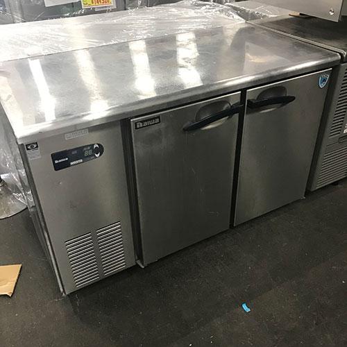 【中古】冷蔵コールドテーブル 大和冷機 4061CD-EC 幅1200×奥行600×高さ800 【送料別途見積】【業務用】