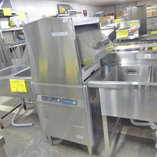 【中古】食器洗浄機 ホシザキ JWE-450WUB3 幅600×奥行600×高さ1380 三相200V 【送料別途見積】【業務用】
