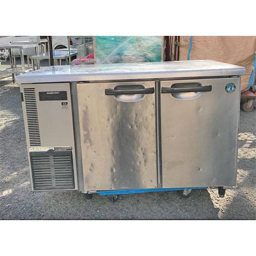 【中古】冷蔵コールドテーブル ホシザキ RT-120SDE-ML 幅1200×奥行750×高さ800 【送料別途見積】【業務用】