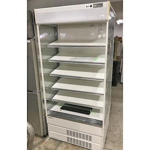 【中古】冷蔵多段オープンショーケース パナソニック(Psnasonic) SAR-U390N 幅890×奥行670×高さ1900 三相200V 【送料無料】【業務用】