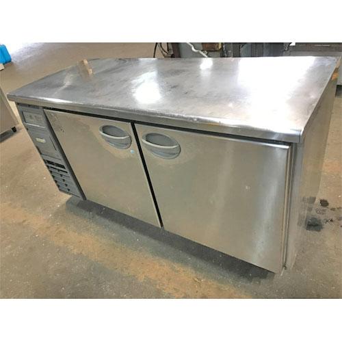 【中古】冷凍冷蔵コールドテーブル フクシマガリレイ(福島工業) YRC-151PE1 幅1500×奥行600×高さ800 【送料無料】【業務用】