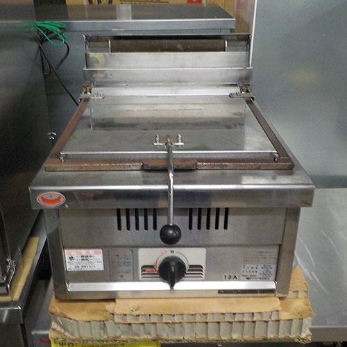 【中古】餃子焼器 マルゼン MGZ-046 幅450×奥行600×高さ270 都市ガス 【送料無料】【業務用】