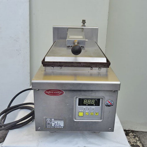 【中古】電気餃子焼器 日本洗浄機 GZ161B 幅280×奥行615×高さ370 【送料別途見積】【業務用】