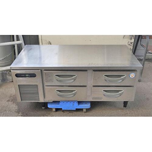 【中古】低冷蔵ドロワーコールドテーブル フクシマガリレイ(福島工業) TBC-40RM3 幅1200×奥行600×高さ550 【送料別途見積】【業務用】