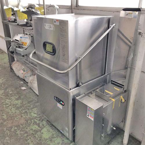 【中古】食器洗浄機 タニコー TDWD-6SGR 幅920×奥行650×高さ1490 三相200V 都市ガス 【送料無料】【業務用】