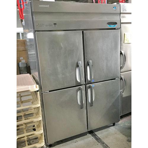 【中古】縦型冷凍冷蔵庫 ホシザキ HRF-120XF3 幅1200×奥行800×高さ1890 三相200V 【送料別途見積】【業務用】