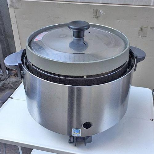 【中古】ガス炊飯器 リンナイ RR-S20SF 幅470×奥行378×高さ357 都市ガス 【送料無料】【業務用】