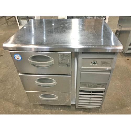 【中古】冷凍ドロワーコールドテーブル フクシマガリレイ(福島工業) YDC-083FM2-R 幅750×奥行600×高さ800 【送料無料】【業務用】