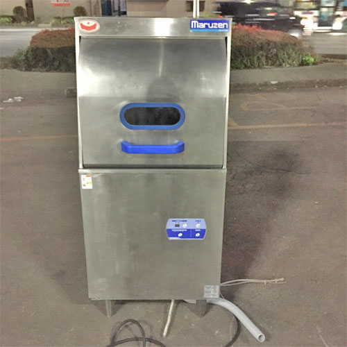 【中古】食器洗浄機 マルゼン MDRTB6E 幅600×奥行600×高さ1375 三相200V 【送料別途見積】【業務用】