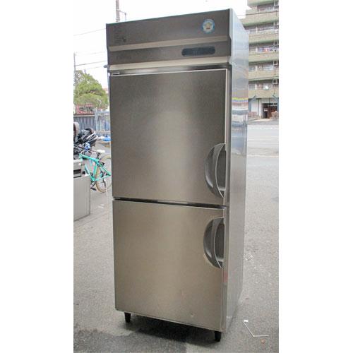 【中古】2ドア縦型冷蔵庫 フクシマガリレイ(福島工業) URN-080RM6 幅750×奥行650×高さ1950 【送料別途見積】【業務用】