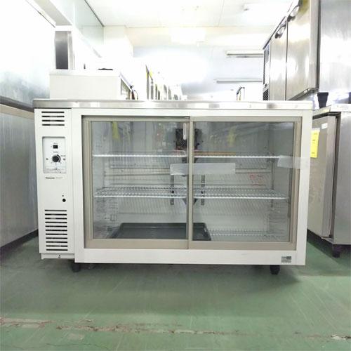 【中古】冷蔵ショーケース パナソニック(Panasonic) SMR-V1241NB 幅1200×奥行450×高さ800 【送料別途見積】【業務用】