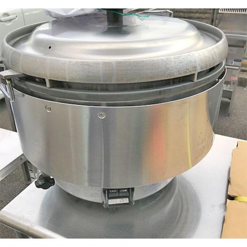 【中古】ガス炊飯器 リンナイ RR-50S2-F 幅543×奥行506×高さ442 LPG(プロパンガス) 【送料別途見積】【業務用】