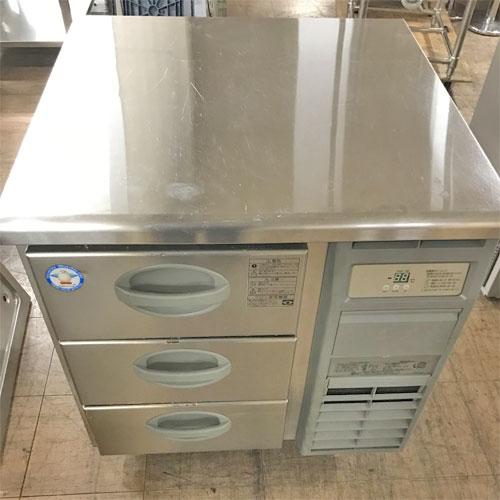 【中古】冷凍ドロワーコールドテーブル フクシマガリレイ(福島工業) YDW-083FM2 幅750×奥行750×高さ800 【送料無料】【業務用】
