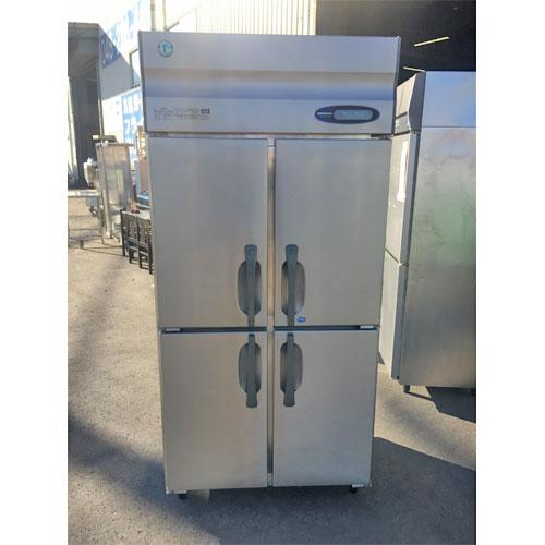 【中古】冷凍冷蔵庫 ホシザキ HRF-90ZT3 幅900×奥行650×高さ1910 三相200V 【送料別途見積】【業務用】