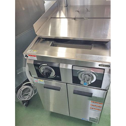 【中古】冷凍ゆで麺機 タニコー THU-50A 幅500×奥行750×高さ800 都市ガス 【送料別途見積】【業務用】
