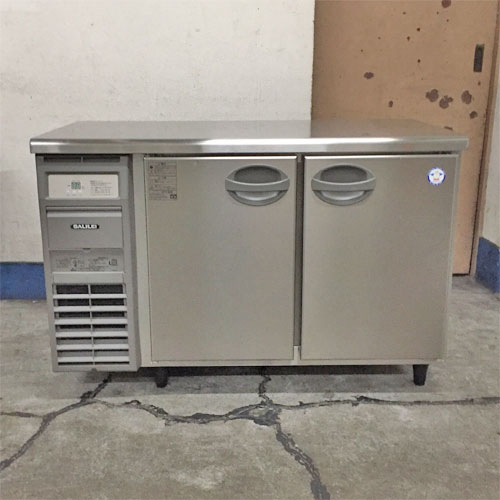 【中古】冷蔵コールドテーブル フクシマガリレイ(福島工業) YRC-120RM2 幅1200×奥行600×高さ790 【送料別途見積】【業務用】