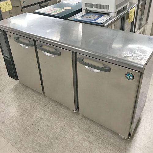 冷蔵コールドテーブル 3ドア ホシザキ RT-150PTE1 業務用 中古/送料別途見積