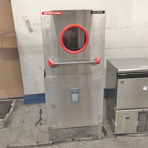 【中古】食器洗浄機 中西 A500E 幅605×奥行600×高さ1390 三相200V 50Hz専用 【送料別途見積】【業務用】