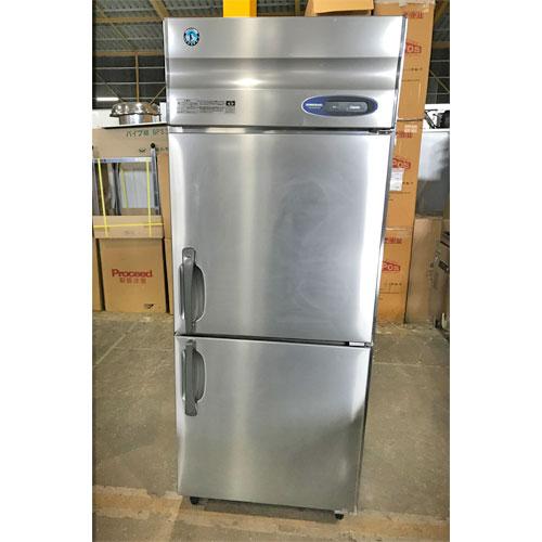 【中古】縦型冷凍庫 ホシザキ HF-75Z3 幅750×奥行800×高さ1890 三相200V 【送料無料】【業務用】