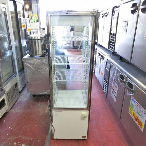 【中古】四面冷蔵ショーケース パナソニック(Panasonic) SSR-DX170N 幅430×奥行450×高さ1430 【送料別途見積】【業務用】
