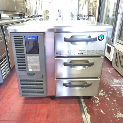 【中古】冷蔵ドロワーコールドテーブル ホシザキ RT-80DDF 幅800×奥行750×高さ800 【送料別途見積】【業務用】