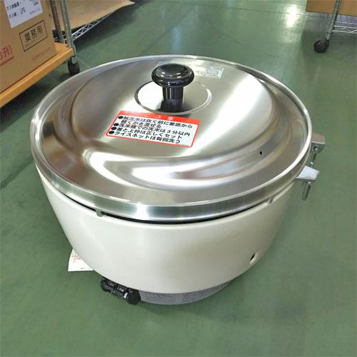 【中古】ガス炊飯器 リンナイ RR-50S1 幅525×奥行481×高さ447 都市ガス 【送料別途見積】【業務用】