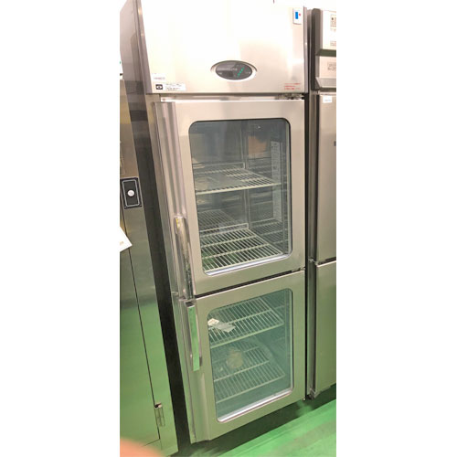 【中古】縦型冷蔵庫 フジマック FR6165ASJ 幅610×奥行650×高さ1950 【送料別途見積】【業務用】