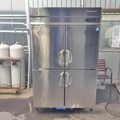 【中古】4ドア縦型冷蔵庫 キタザワ(フクシマガリレイ) KARD-120RM-F 幅1200×奥行800×高さ1950 【送料別途見積】【業務用】