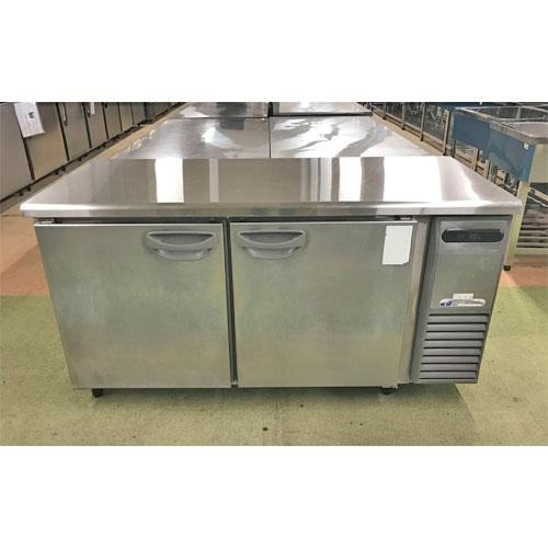 【中古】冷蔵コールドテーブル フクシマガリレイ(福島工業) TRC-50RM1-R(改) 幅1500×奥行600×高さ800 【送料別途見積】【業務用】