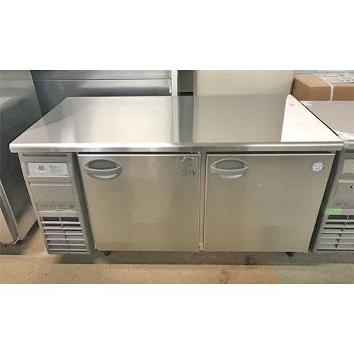【中古】冷蔵コールドテーブル フクシマガリレイ(福島工業) YRW-150RM2(改) 幅1500×奥行750×高さ800 【送料別途見積】【業務用】