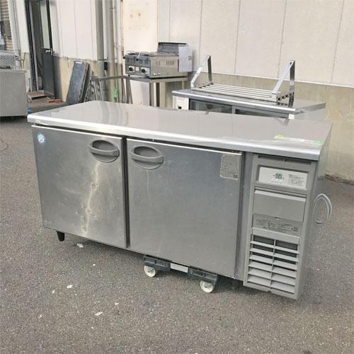 【中古】冷蔵コールドテーブル フクシマガリレイ(福島工業) YRC-150RM2-R(改) 幅1500×奥行600×高さ800 【送料別途見積】【業務用】