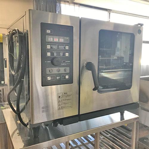 【中古】スチームコンベクションオーブン ホシザキ MIC-6SA3-1 幅900×奥行770×高さ750 三相200V 【送料別途見積】【業務用】