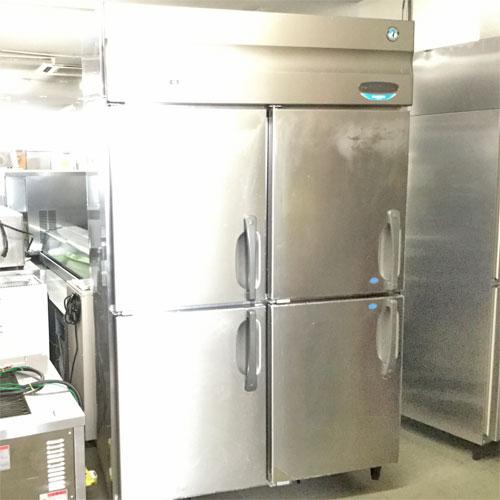 【中古】縦型冷凍冷蔵庫 ホシザキ HRF-120XFT3 幅1200×奥行650×高さ1890 三相200V 【送料別途見積】【業務用】