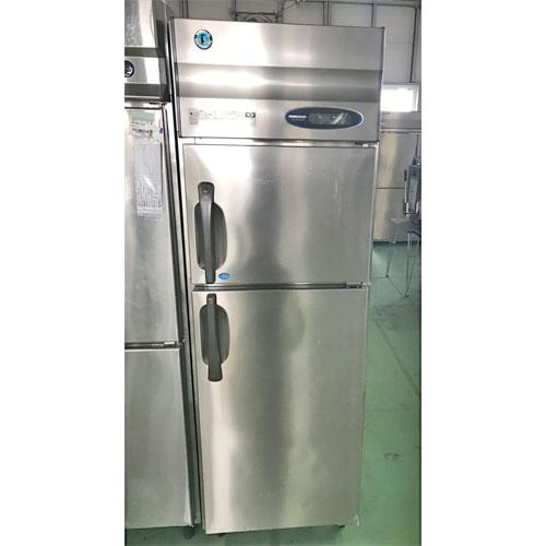 【中古】縦型冷凍冷蔵庫 ホシザキ HRF-63ZT 幅625×奥行650×高さ1890 【送料別途見積】【業務用】