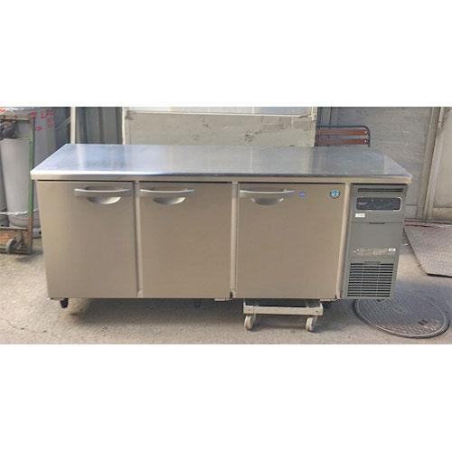 【中古】冷凍冷蔵コールドテーブル ホシザキ RFT-180SNG-R 幅1800×奥行600×高さ800 【送料別途見積】【業務用】
