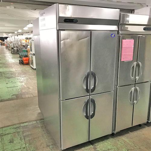 【中古】縦型冷凍庫 サンヨー SRF-G983S 幅900×奥行800×高さ1950 三相200V 【送料別途見積】【業務用】