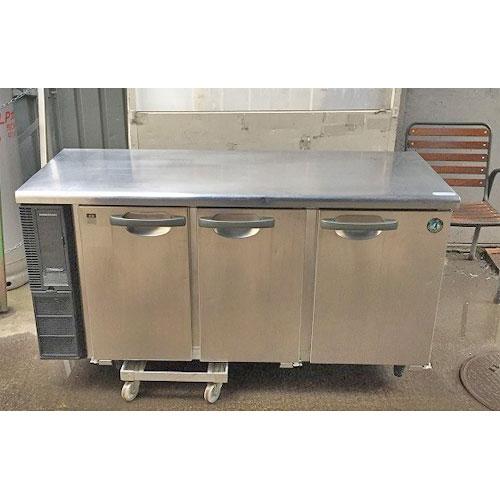 【中古】冷蔵コールドテーブル ホシザキ RT-150PNE1 幅1500×奥行600×高さ780 【送料別途見積】【業務用】