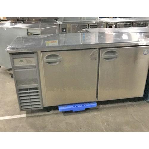 【中古】冷蔵コールドテーブル フクシマガリレイ(福島工業) YRD-150RM2 幅1500×奥行750×高さ800 【送料別途見積】【業務用】